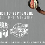 Image for the Tweet beginning: 💥 La @jdadijonbasket affrontera @Nanterre92