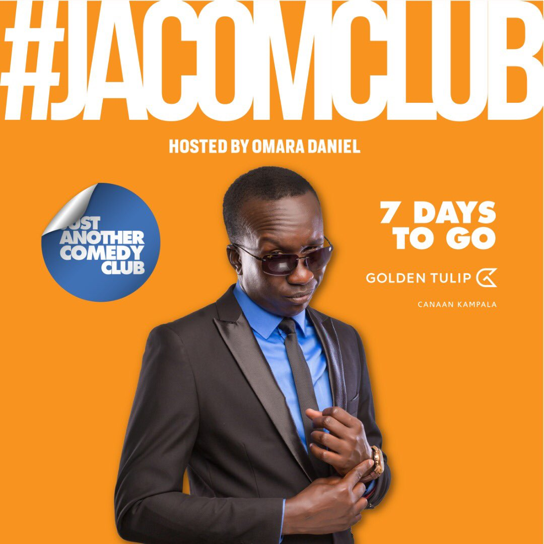 #jacomclub #laughdownbegins 7 days to go