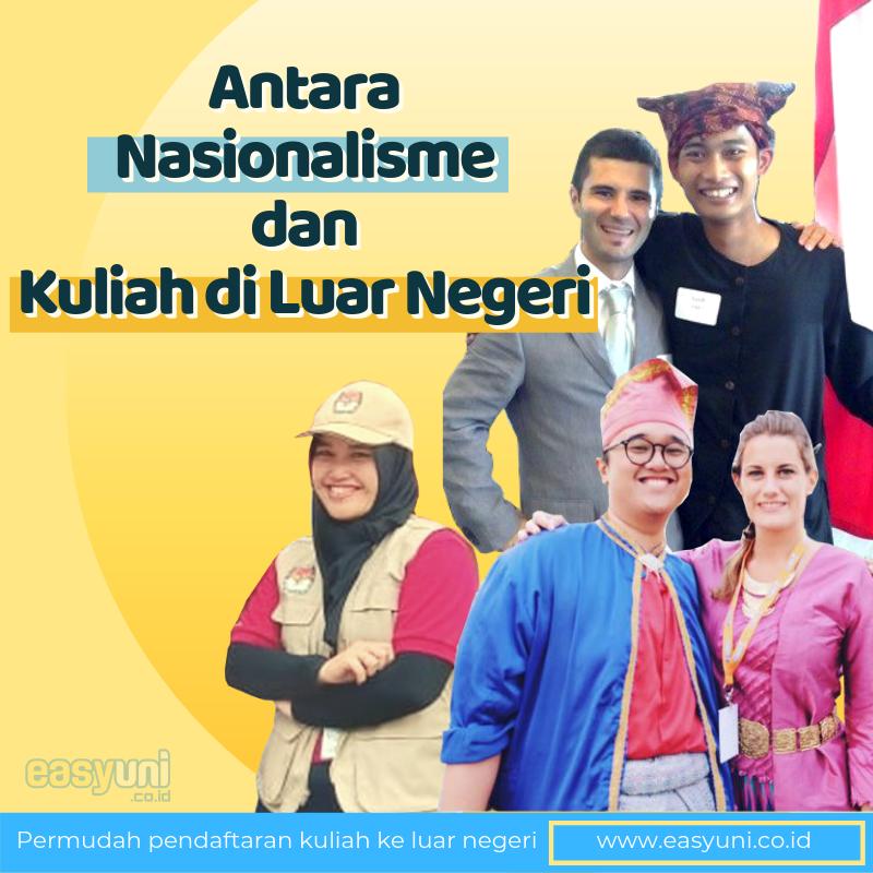 Apakah nasionalisme mu dapat dipengaruhi oleh pengalaman tinggal di luar negeri?  Cari tahu bagaimana pengalaman tinggal di Amerika, Belanda dan Malaysia dapat membuat ketiga siswa ini menghargai identitas mereka.  http://bit.ly/2ZKR7xN