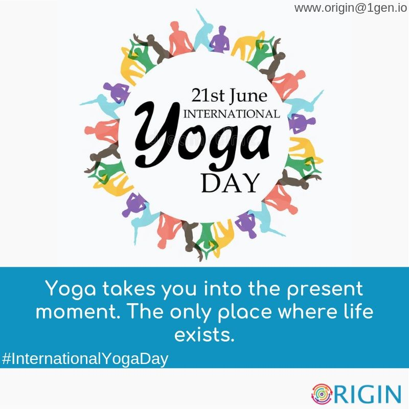InternationalYogaDay is here and project origin wishes to