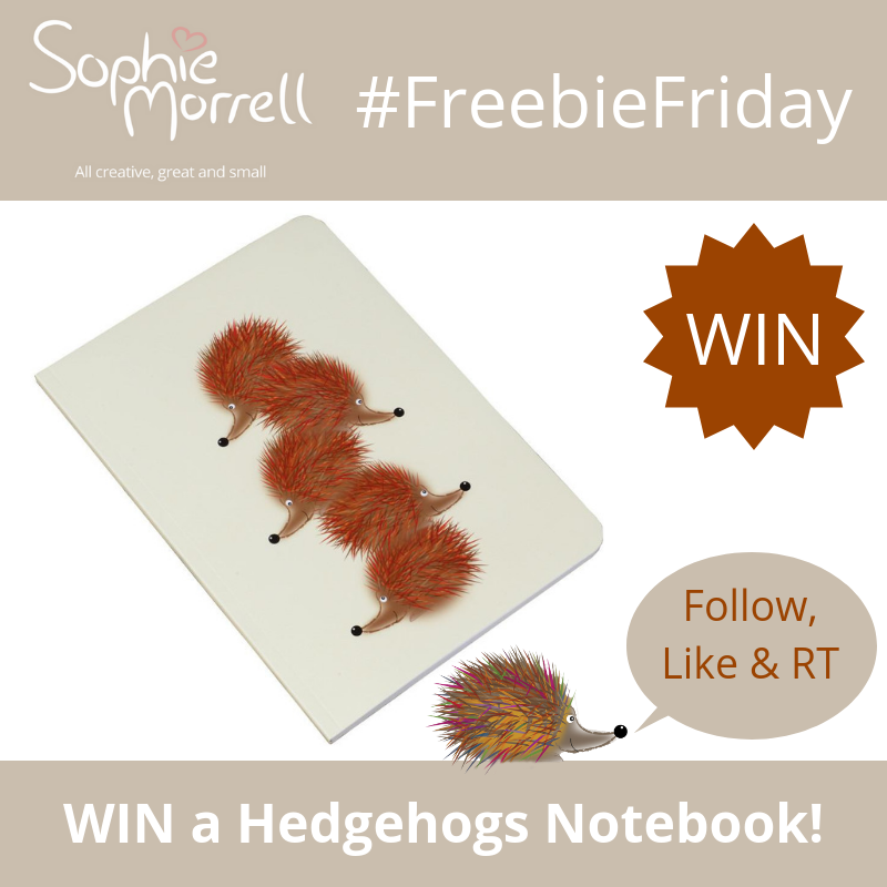It's #FreebieFriday time! WIN one of our bestselling hedgehog notebooks! For your chance to #win follow us  @_sophiemorrell, like this tweet & RT. Closes 11.59pm 04/07/19 (UK only) #giveaway #prize #notebook #hedgehogs #stationery #smallbusiness #shopsmall #win #stationerylover<br>http://pic.twitter.com/3VyvrXxKcb