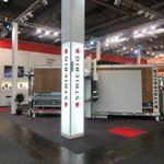 Image for the Tweet beginning: #Throwback to #Striebig's LIGNA stand