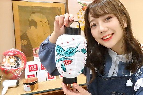 🎈#후쿠오카 #여행 정보🎈 🎀Kawaii Ambassadors' Fukuoka Travel Diary 🎀 1895년 에 창업해 후쿠오카 #하카타 에서 100년 이상 걸쳐서 #등불 을 제조 판매하고 있는 카도타등불점에서, 등불에 그림 그려넣기 체험에 첫 도전했습니다🖌✨  📍상세한 사항은👉