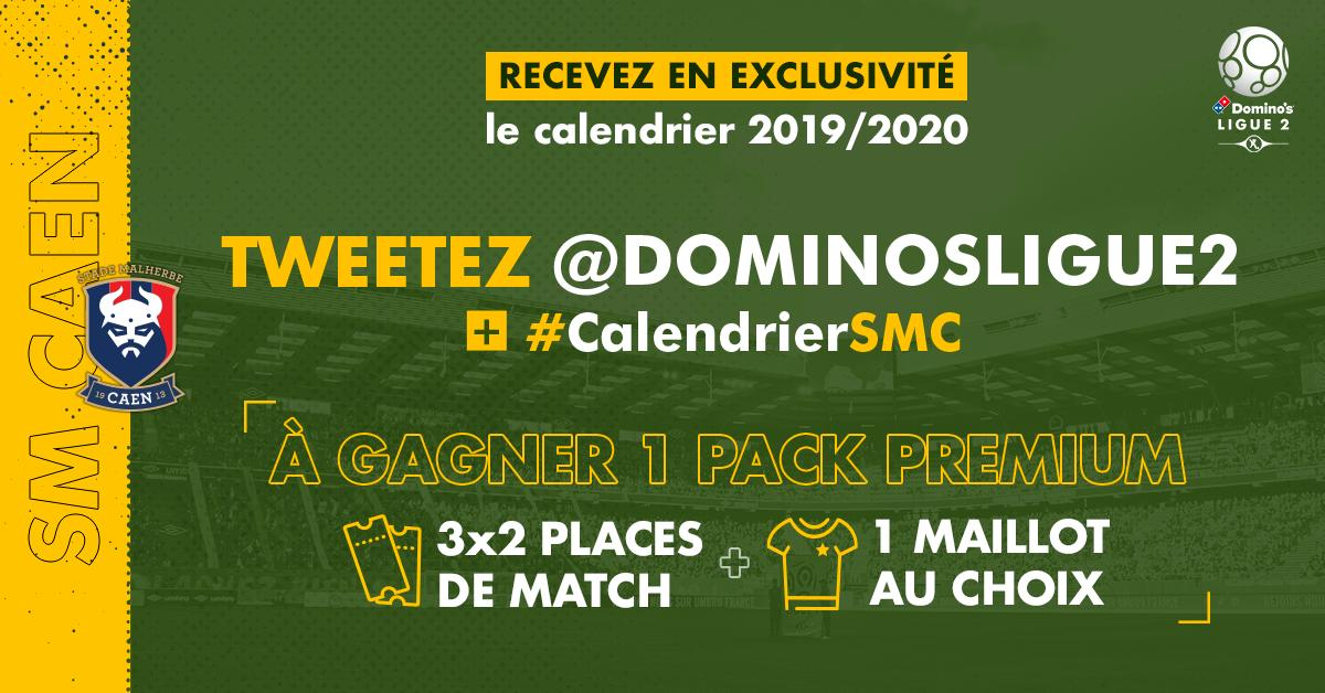 Calendrier 2020 Ligue 2.Domino S Ligue 2 On Twitter Supporters Du Smcaen