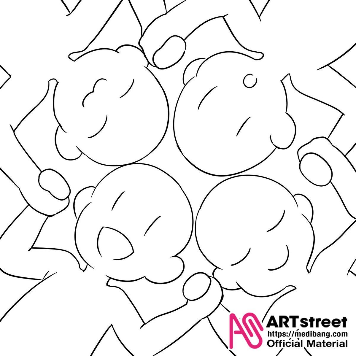 Art Street Official メディバン בטוויטר Art Street 新公式企画 投稿作品80作品超え 100作品目前なので燃料を追加いたします 今回は4人 5人用のベース素材ですッ 推しが4人組or5人組の方是非ご検討 ご利用ください アイドル