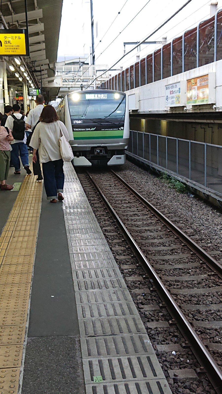 町田駅で人身事故「飛び込みしたっぽい」帰宅ラッシュに横浜線が遅延