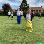 Image for the Tweet beginning: Final sports day practise. Think