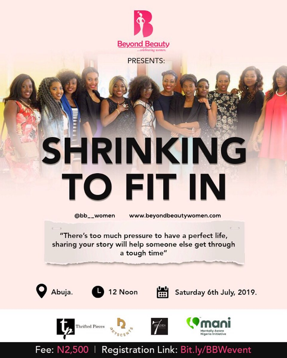 Exactly 2 weeks to the event.  If you are in Abuja, don't miss this one. #Abujatwittercommunity <br>http://pic.twitter.com/0q4DGm7Xpp