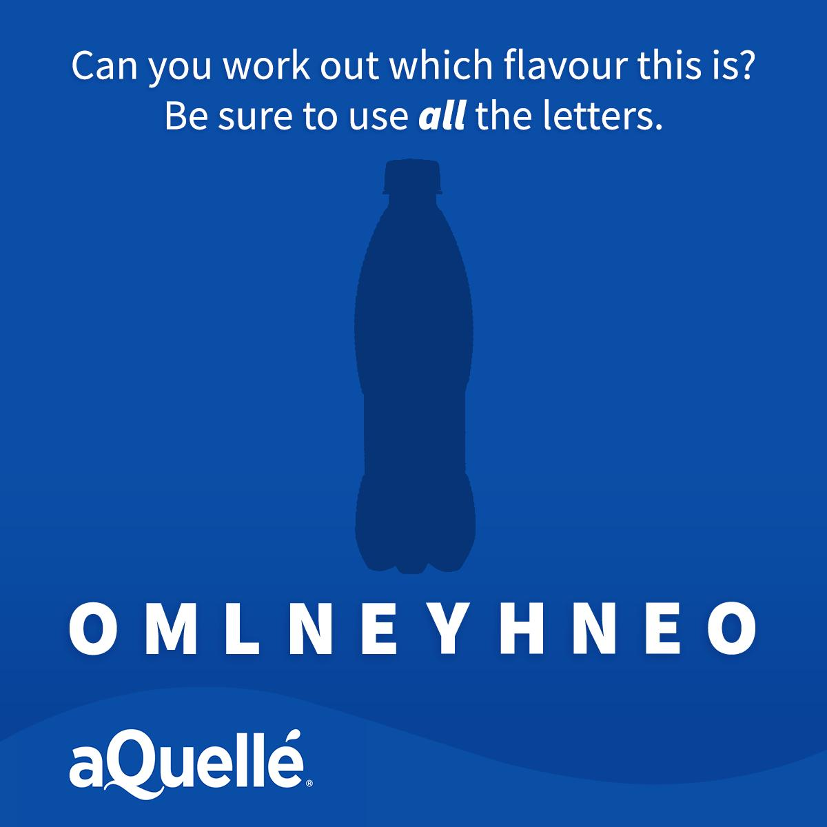 Some Friday fun: find the flavour! #aQuellé<br>http://pic.twitter.com/IfQdOGTxkK