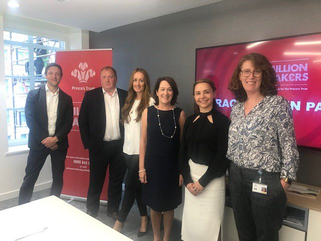 Fantastic to see our very own Magali Glover, Head of SAP UKI Alliances, Channels & Partners taking part in @PrincesTrust #MillionMakers as a dragon! Some incredible pitches @ptpartnerships