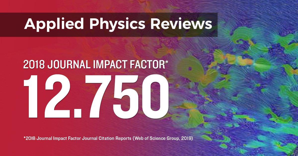 Applied Physics Reviews (@AppliedPhysRev) | Twitter
