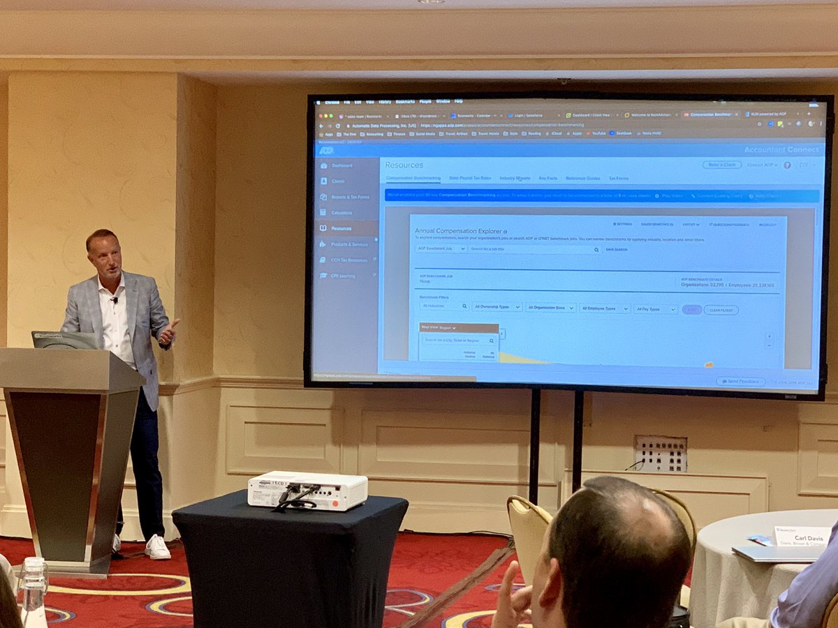Darren Root talking #AccountantConnect and Compensation Benchmarking at the Modern Firm Partner Forum in Chicago! #ADP #WorkingFor @Rootworks