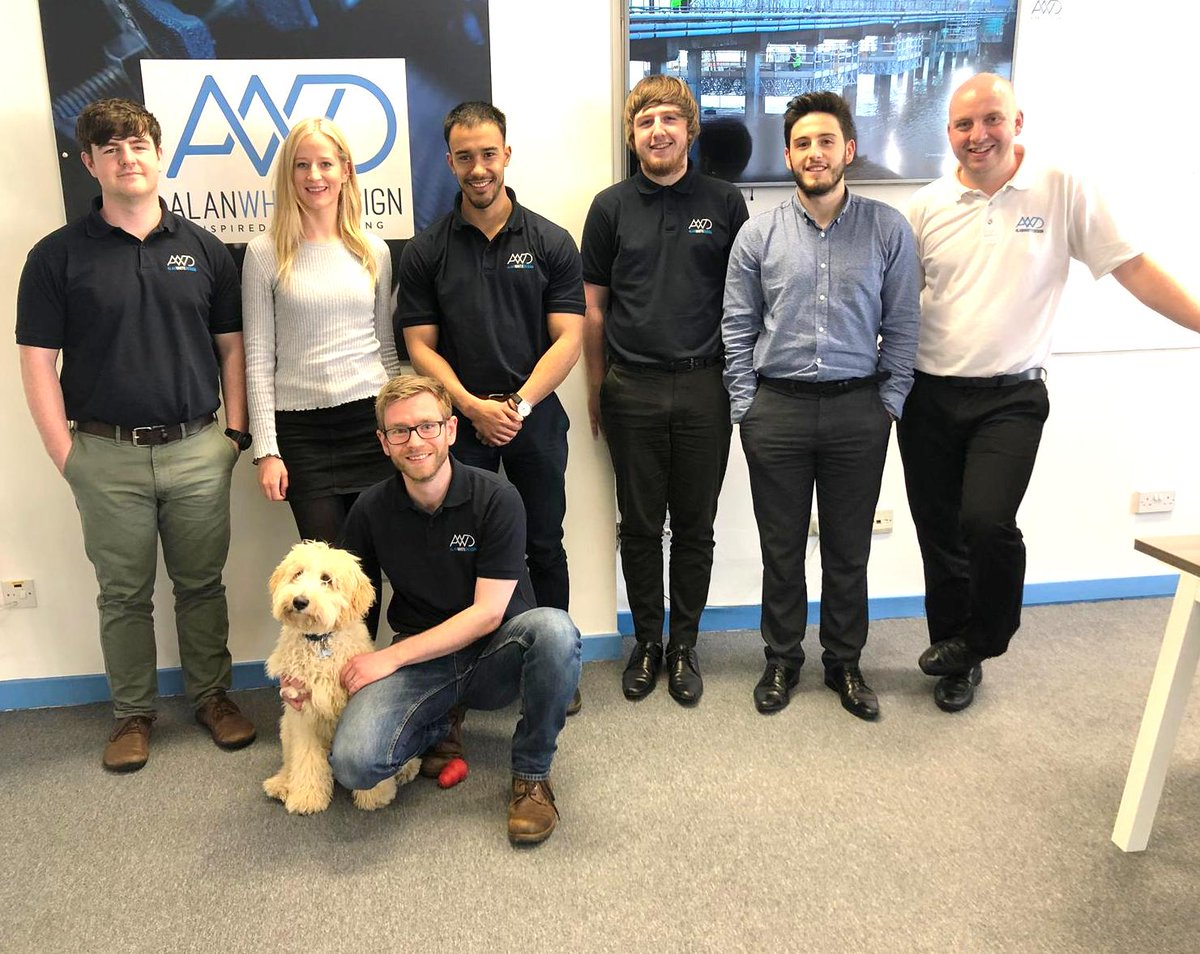 For today only, we've had a furry addition to the team in celebration of #BringYourDogToWorkDay! At only 5 months we reckon Iain the Labradoodle is the youngest Engineer in the business! #furryfriday <br>http://pic.twitter.com/Z3AiArvgBv