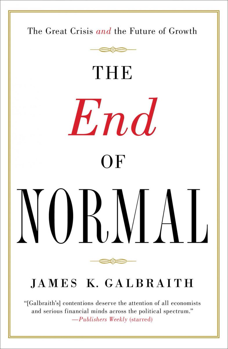 test Twitter Media - @karolina_anna1 @BrankoMilan @amturiel Economics is in disarray and its prestige is going to decline fast. But at least some orthodox economists like James Galbraith are trying to bring fresh air into the discipline by learning from natural sciences. I highly recommend Galbraith's books (he addresses #PeakOil). https://t.co/WUaDG0RwQY