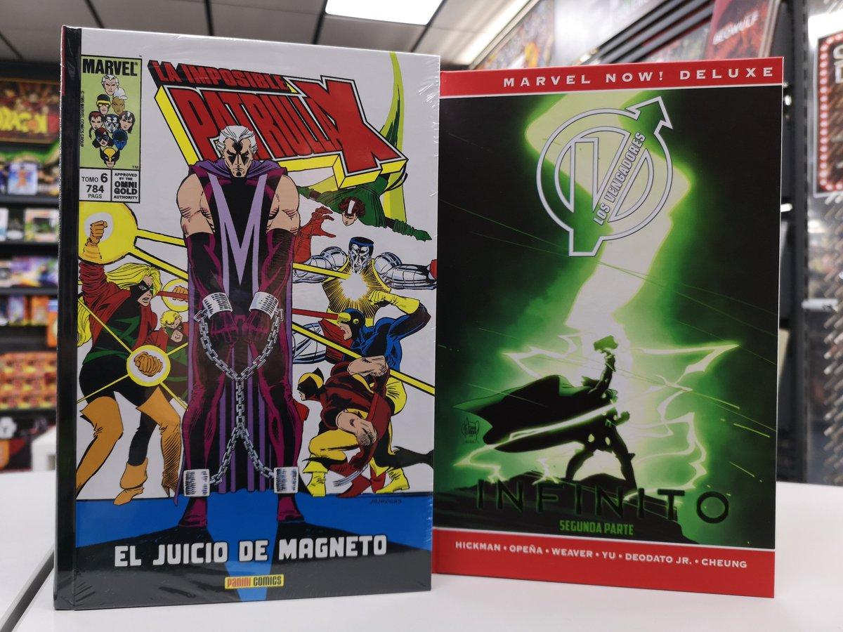... el clásico de La Imposible Patrulla-X, la imprescindible etapa de  Hickman en Los Vengadores o la nueva serie de  Shuri!pic.twitter.com/DIGOWZ7axP