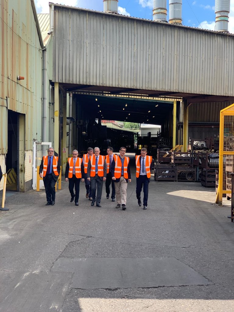 Next stop Titan Steel Wheels in Kidderminster. Vital that we make sure Brexit works for British businesses like Titan, and we turbocharge our economy so we can thrive for decades to come. #hastobehunt