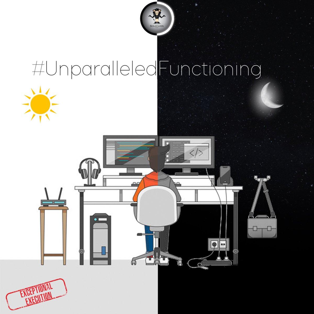 UnparalleledFuctioning hashtag on Twitter