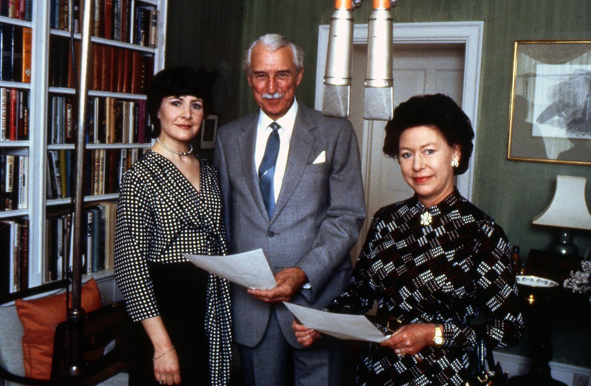 #OnThisDay 1984: Princess Margaret played herself in an episode of BBC Radio 4's agricultural soap, The Archers.