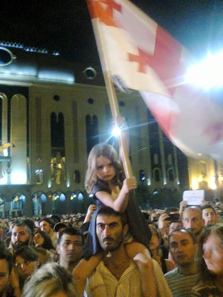 """""""Нет насилию"""", """"Россия - оккупант"""", - протестное шествие состоялось в грузинском Батуми - Цензор.НЕТ 6832"""