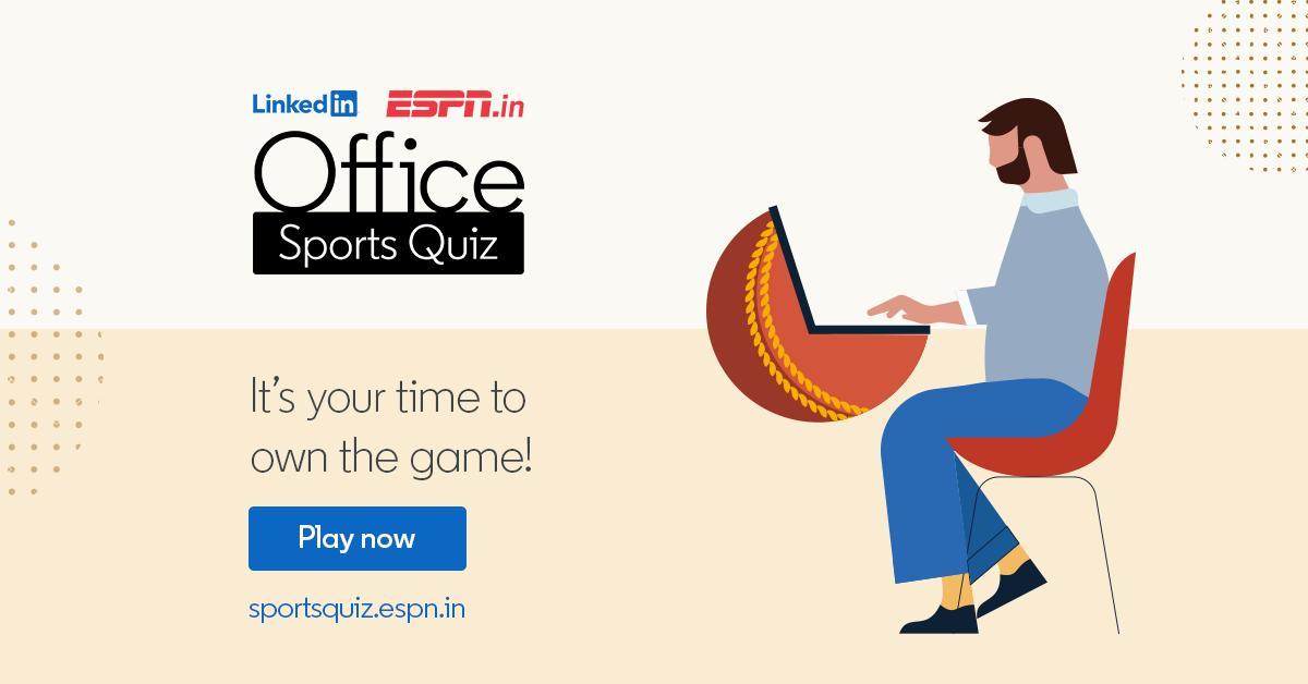 Espn India On Twitter Are You A Sports Fanatic It S Your Time To Call The Shots Participate In The Linkedin Espn Office Sports Quiz Https T Co It8ubggxyx Linkedinindia Officesportsquiz Https T Co A9ejglqqws