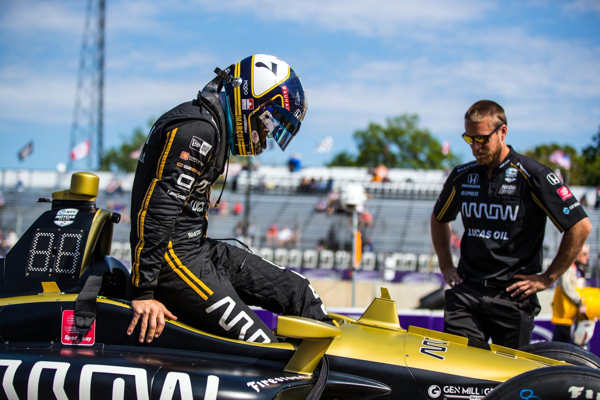 Glad midsommar/Happy midsummer!!! I'm @roadamerica ready for another race weekend. Track looks awesome! 2 practice sessions today #ME7 #INDYCAR