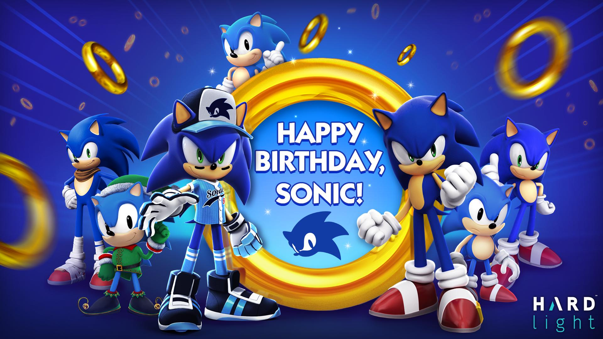 Sega Hardlight On Twitter Happy 28th Birthday To The Blue Blur Himself Sonic The Hedgehog Come Celebrate His Birthday With Us With Special Celebration Chests In Sonic Forces And