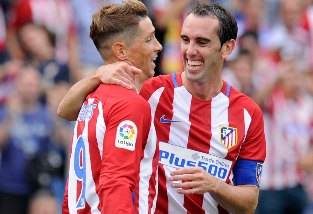 """Diego Godín Fernando """"El Niño"""" Torres"""