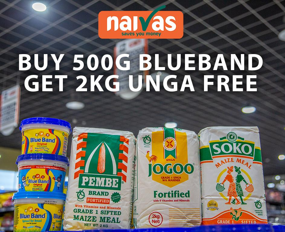You asked, we listened. We did not just reduce the price of UNGA! It's now FREE with every purchase of 500g Blueband. <br>http://pic.twitter.com/D4Z4Gc2Np0