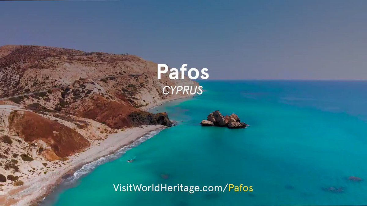 #Pafos #Cyprus has been inhabited since the Neolithic period. Find the remains of temples dating to the 12th cen  BCE. Learn more about this amazing #WorldHeritage site situated at the crossroads of Europe, Asia & Africa  via @VisitEUheritage #Paphos