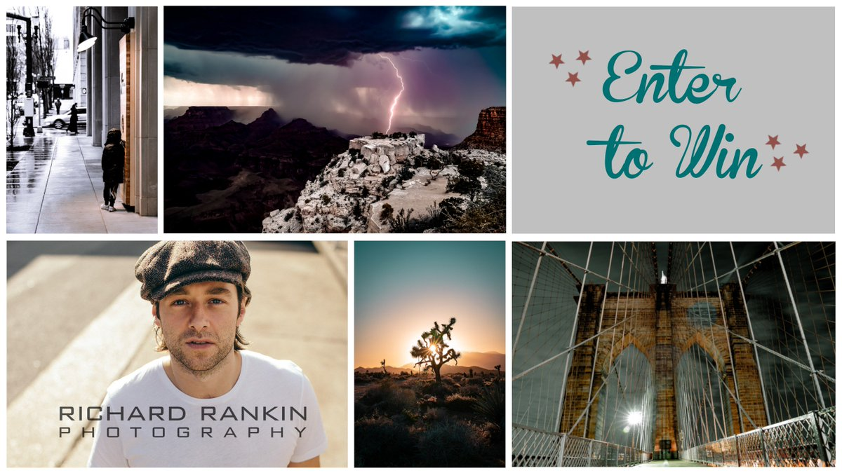 Celebrating our site launch!  ★ Enter to Win 1 of 4 Prints by Richard Rankin ★