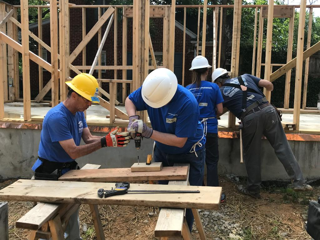Northrop Grumman community support Habitat for Humanity