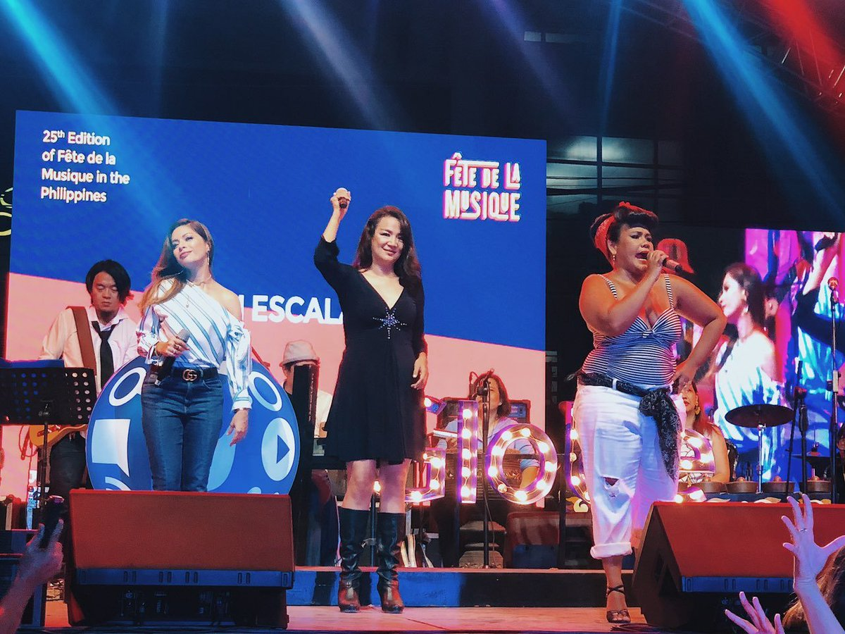 We're seeing a lot of familiar faces on stage tonight. Pinoy pride all over #GlobeFete! 🇵🇭 #FetePH25