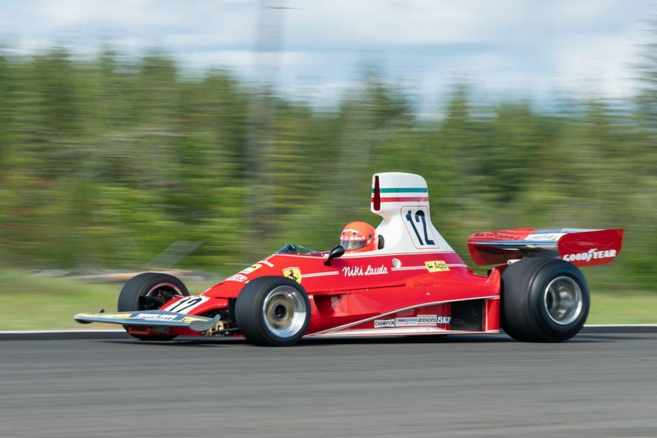Niki Lauda's 1975 Formula One World Championship Ferrari 312T will cross the block at Gooding & Co.s Pebble Beach auction this August, with an estimate of $6-8 million on.forbes.com/6016Eq5P8