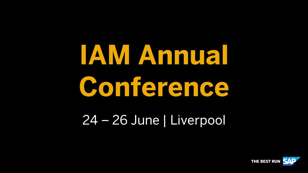 Last chance to register! Book now and secure your place at the #IAM2019AnnualConference to discuss the latest innovations in #AssetManagement services and tools. @_theIAM - http://sap.to/6014EqPaA