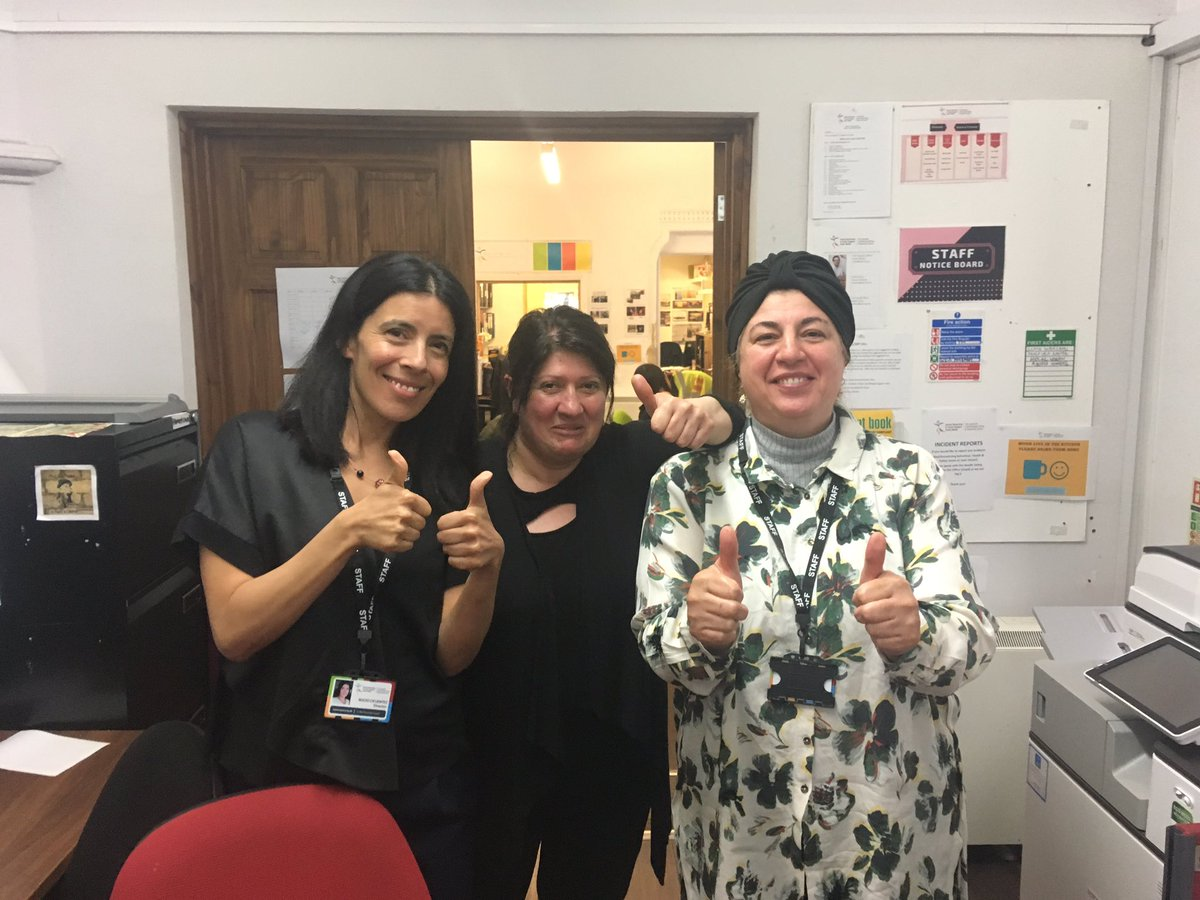 We've just had some great news to end #RefugeeWeek on a high! Can't say what yet but thank you @foundationwales  #HappyFriday!!! <br>http://pic.twitter.com/OoVRVTEGax