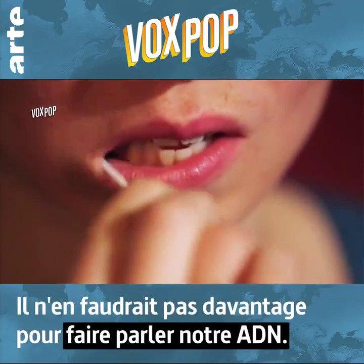 Qu'est-ce qu'un coton-tige bien imbibé de salive peut (vraiment) dire de vous ? ➡ http://so.arte/ADNVoxpop