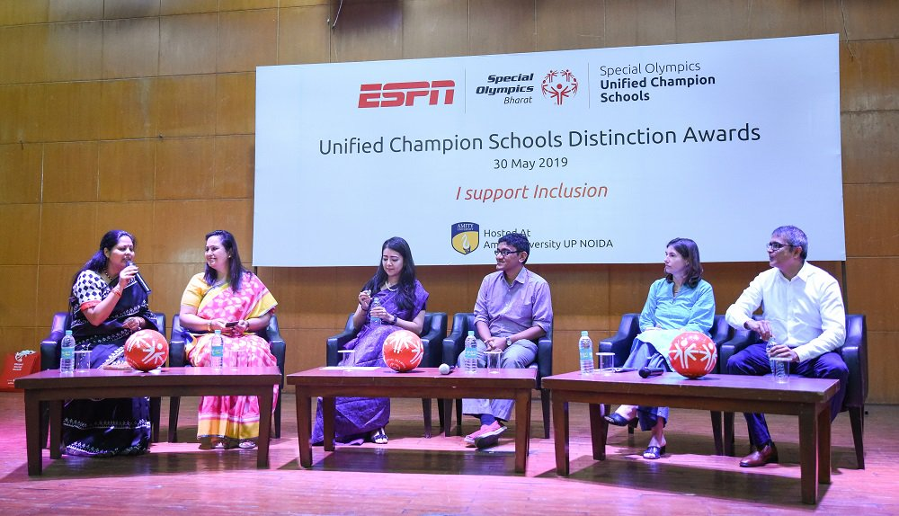 Last month, several schools in India were recognized as Unified Champion Schools for their efforts in wotking with @spl_info to make their schools more inclusive. See what this program has accomplished via @espn ➡ http://bit.ly/2N1mnXx . #ChooseToInclude #UnifiedGeneration