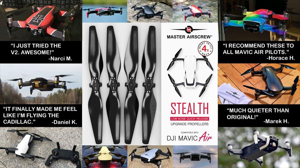 03847b806c4 ... choices! https://www.masterairscrew.com/products/dji-mavic-air-stealth -upgrade-propellers-x4-magenta … #masterairscrew #prop #propeller #dji # mavicair ...
