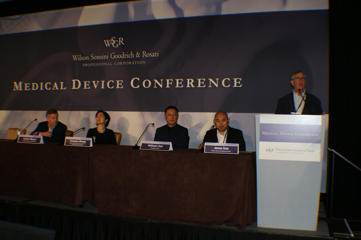 #MDC2019 has officially started! Our very own #WSGR partner Casey McGlynn kicked off w/ welcome & first panel about new investor models for #medtech venture #investing feat. guests from @ShangbayC, Scientific Health Development Fund, @NorwestVP & @RosenmanInst #medicaldevice #VC<br>http://pic.twitter.com/HmbWleTEGV
