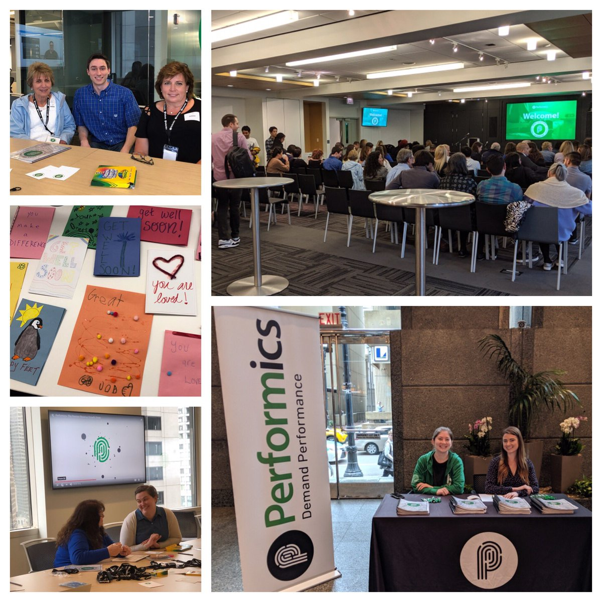 "test Twitter Media - Celebrating the second annual ""Bring your Family to Work Day"" at Performics Chicago!  Families ate pizza 🍕, made cards for kids at Lurie Children's, and enjoyed hands-on activities with each department. #onepfx #agencylife #performics https://t.co/k4HL6lbmE4"