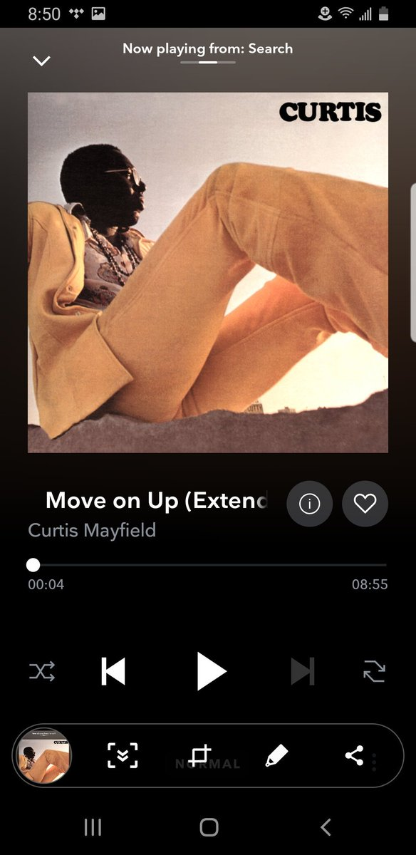 Gotta put that Move On Up Extended version on the playlist too. Some feel good  to get the Summer Solstice started  #curtismayfield <br>http://pic.twitter.com/VeXJehS0xw