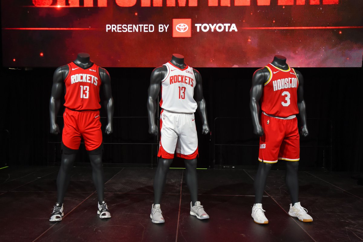 Check out all the 🔥 from last night's uniform reveal, presented by @Toyota! 📸 | on.nba.com/2KuLos6