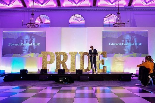 I was honoured to give the keynote speech at The London Pride Gala yesterday evening. #IFeelPrideWhen ❤️ 📸 by @gettyimages