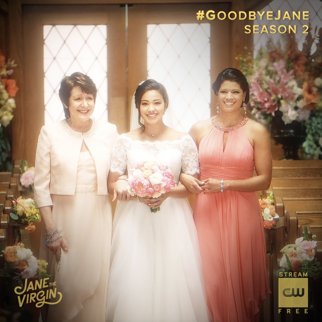 Soon, she'll walk down the aisle again . Stream the latest:  http:// go.cwtv.com/JTV513tw     #JaneTheVirgin #FBF #GoodbyeJane <br>http://pic.twitter.com/UvjTG4FbAt