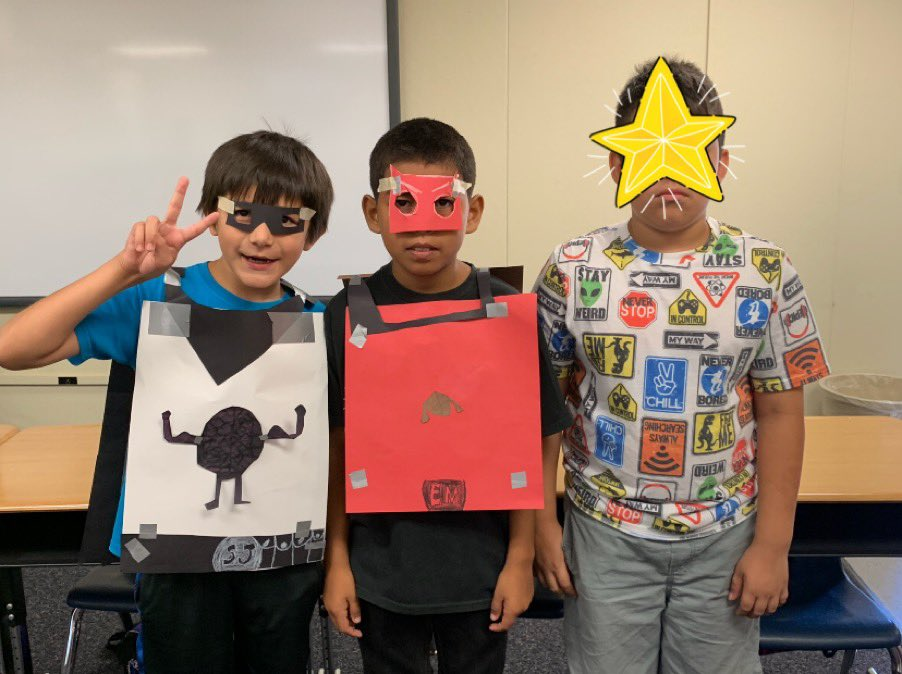 Needless to say, my students were inspired  by the #youcubed  growth mindset videos when creating their skits! #youcubedcamp #TCSDshare #summeracademy