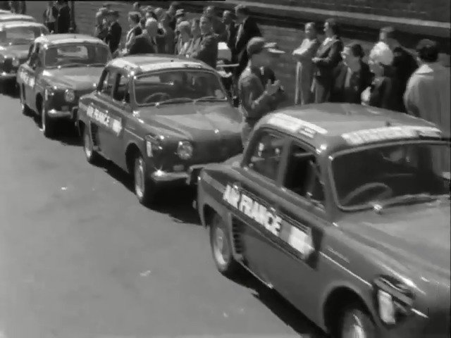 """#OnThisDay 1961: """"I feel our goose might be cooked"""" London cabbies reacted to the influx of newfangled mini-cabs, on News Extra."""