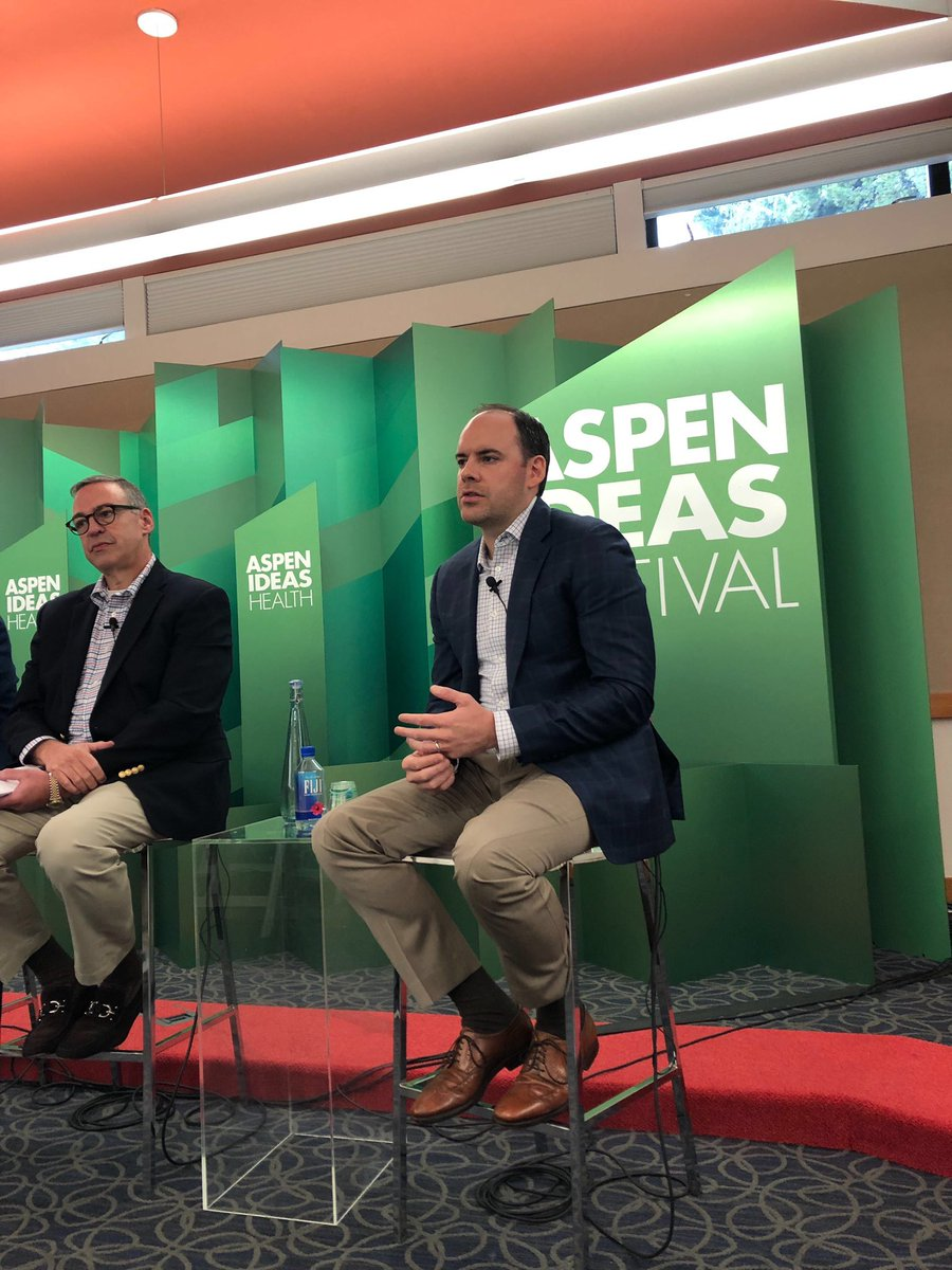 .@robzirk: We are focused on making sure patients benefit from the discounts that middlemen receive on medicines. #AspenIdeasHealth