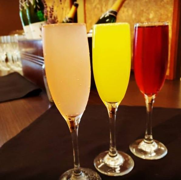 Mimosa party anyone? Join us for Mimosa Madness from 12-2 PM we will be serving them for $3, cheers! #abq #eatlocalabq #albuquerque #nmcraftbeer #nmbeer #onealbuquerque #albuquerquefoodies #abqfoodies #brunch