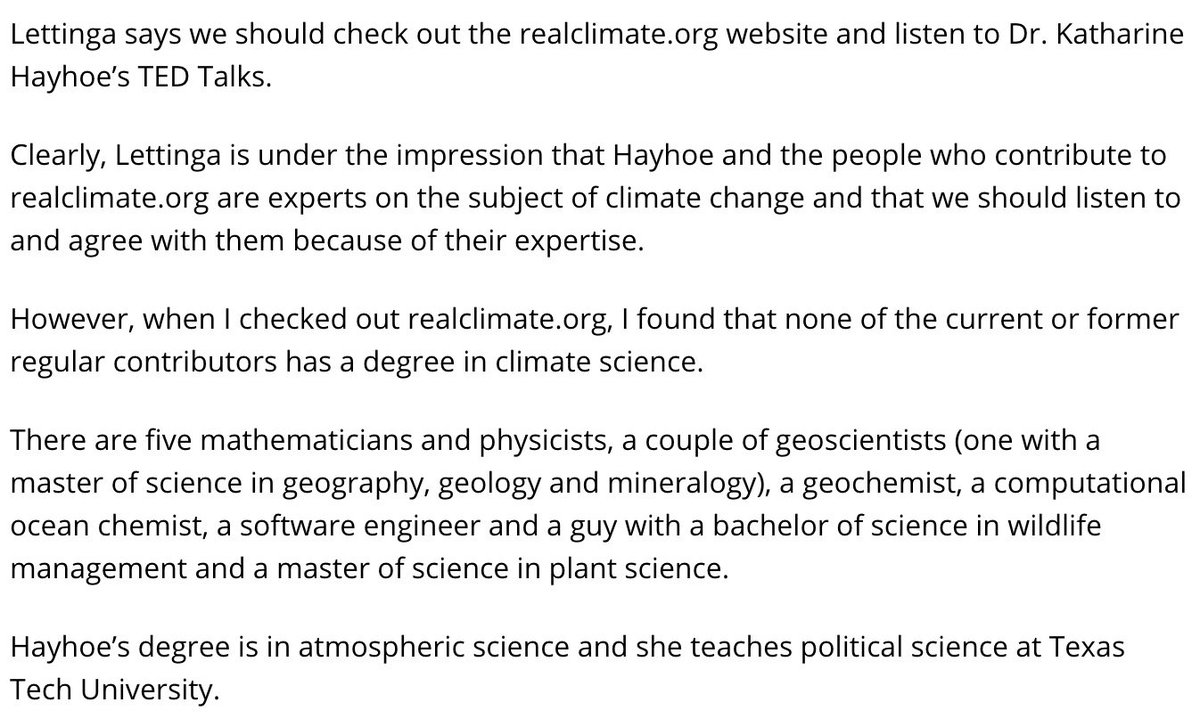 One of the most common put-downs people who want to reject the science of climate change have to climate scientists is to say that we aren't experts. What they don't realise is that we each study a different part of the climate system: ocean, atmosphere, biosphere and more ...