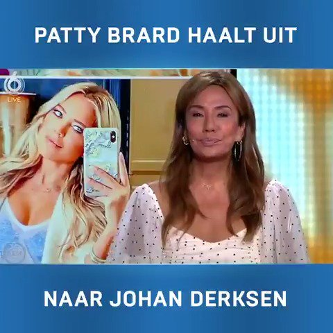 """Patty Brard over Johan Derksen: """"Is zijn kapper dood?"""""""